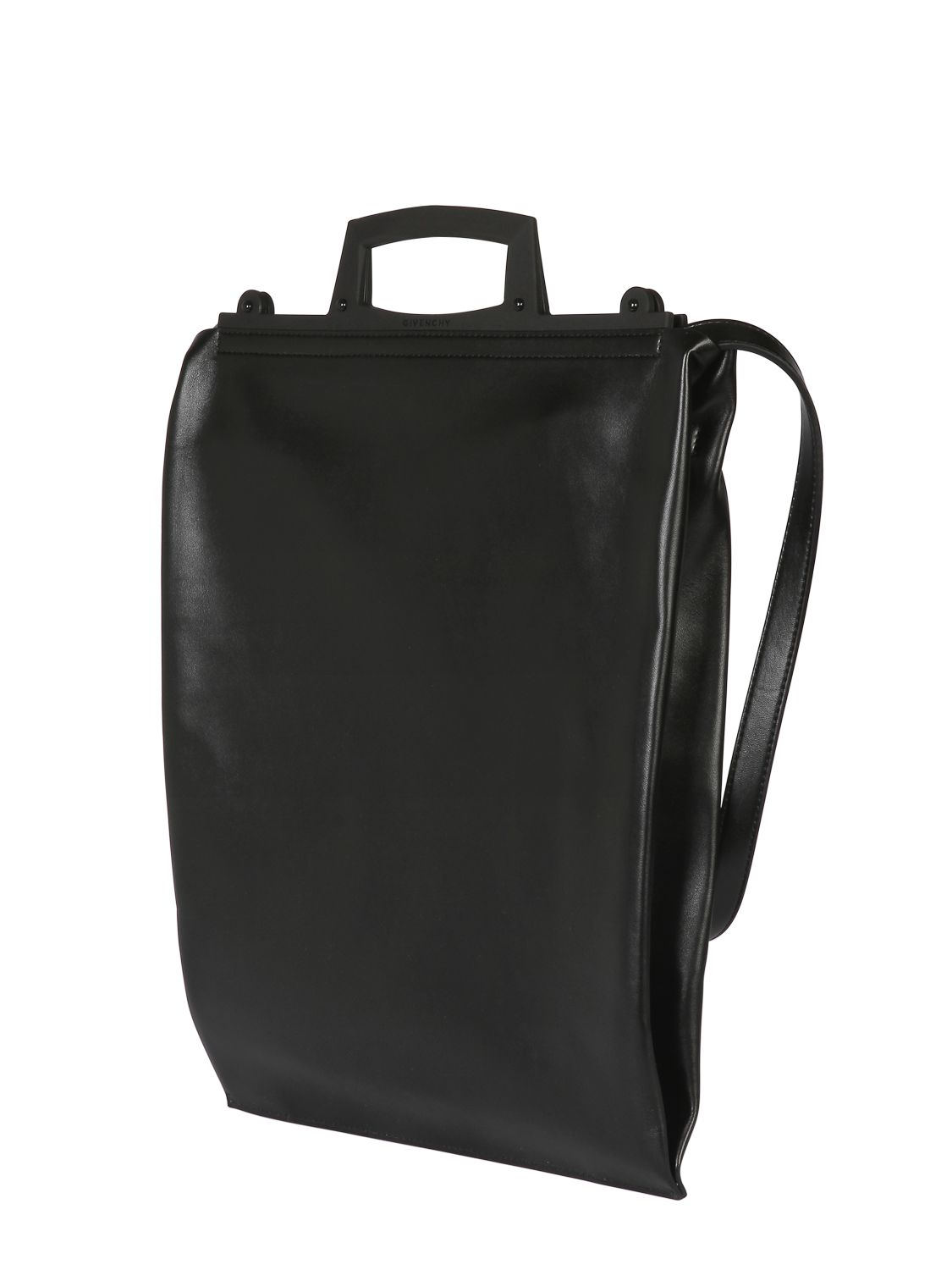 ea79bbb47fd5 Lyst - Givenchy Rave Shiny Leather Shopping Bag in Black