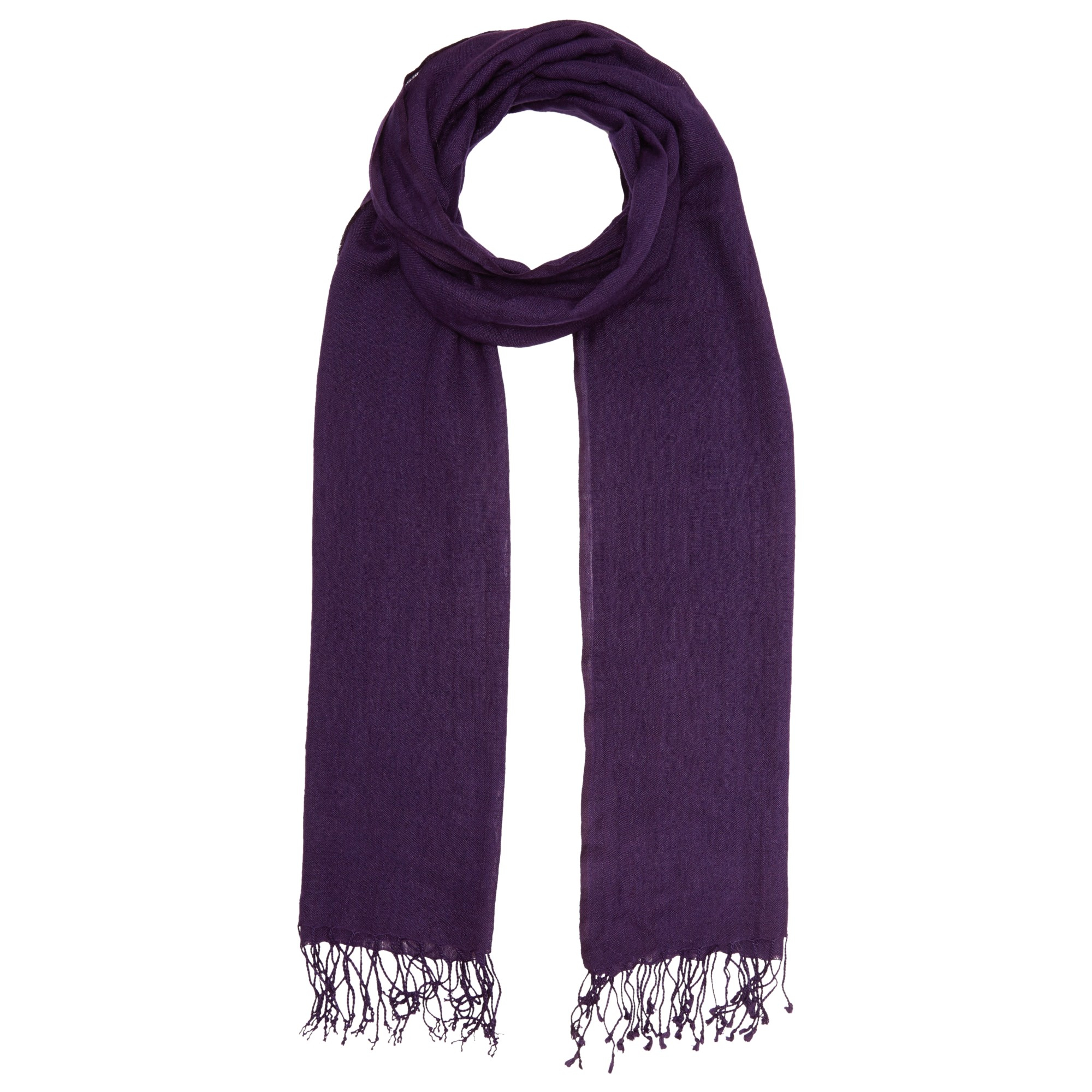 lewis wool mix occasion scarf in purple lyst