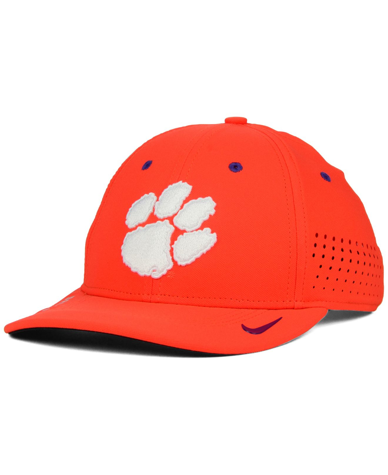 a78acca68ac ... cheapest lyst nike clemson tigers sideline cap in orange for men 3e042  a7e24
