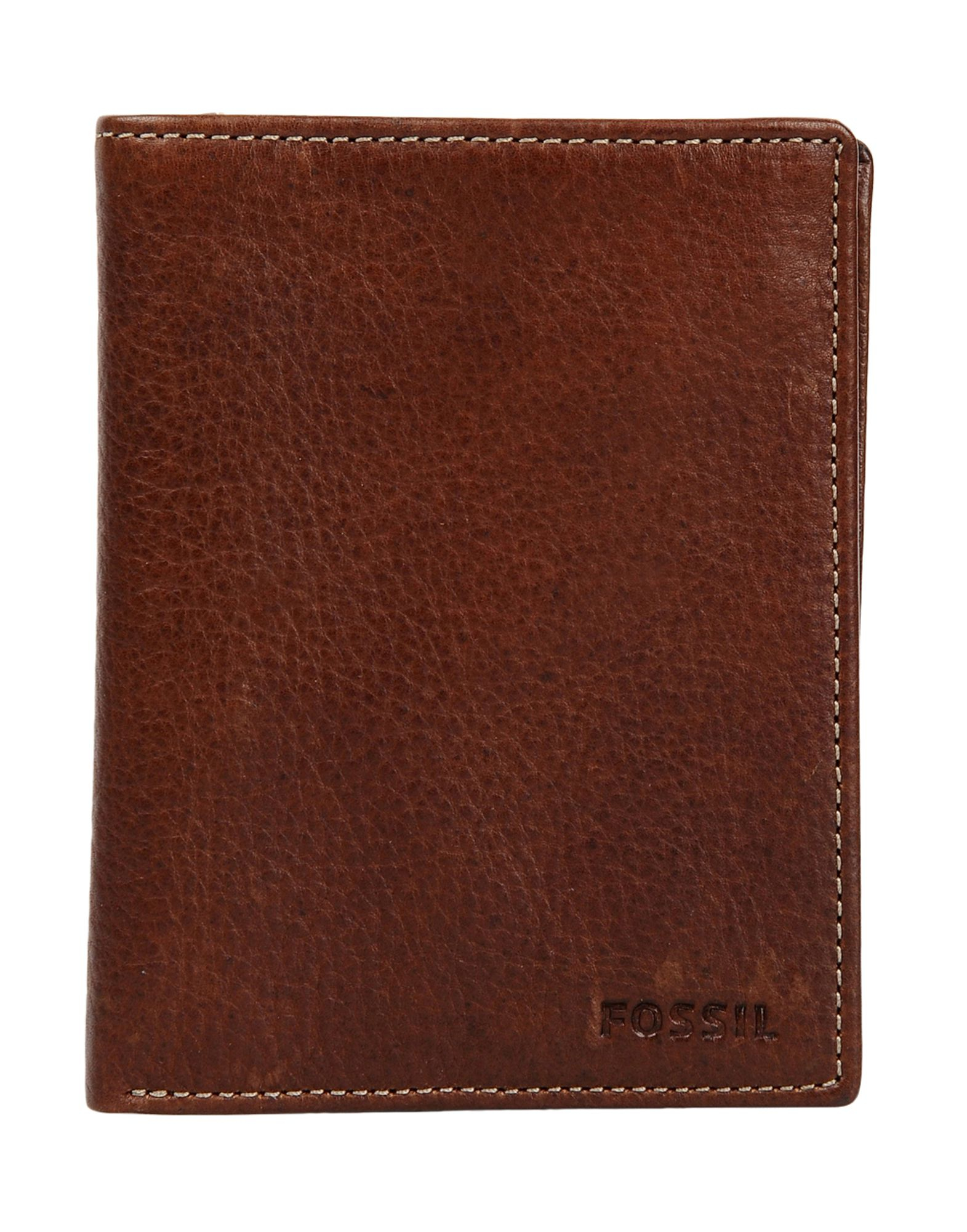 fossil wallet in brown for men lyst