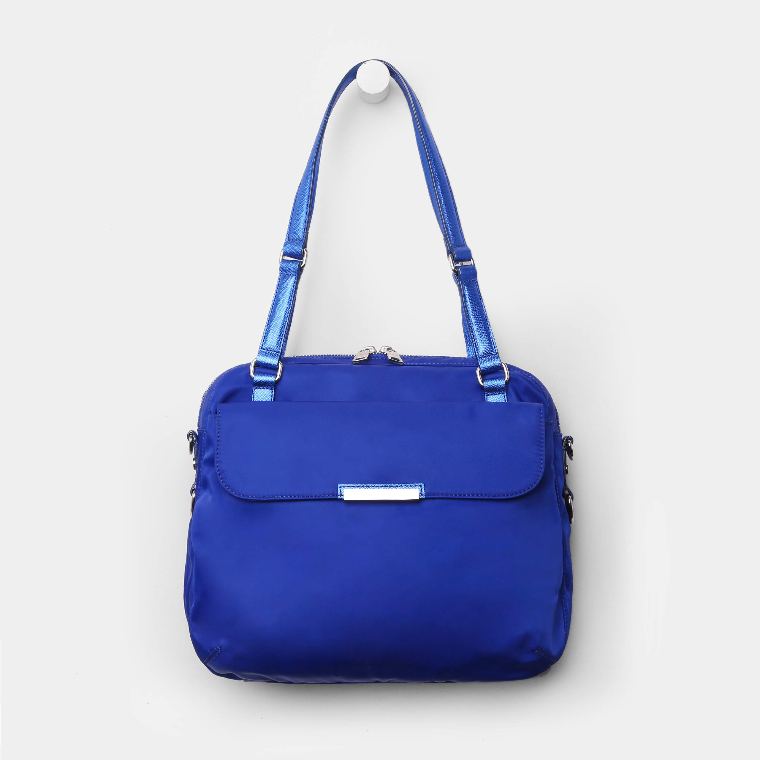 10e12bbce MZ Wallace Coco Tote Royal Blue Bedford in Blue - Lyst
