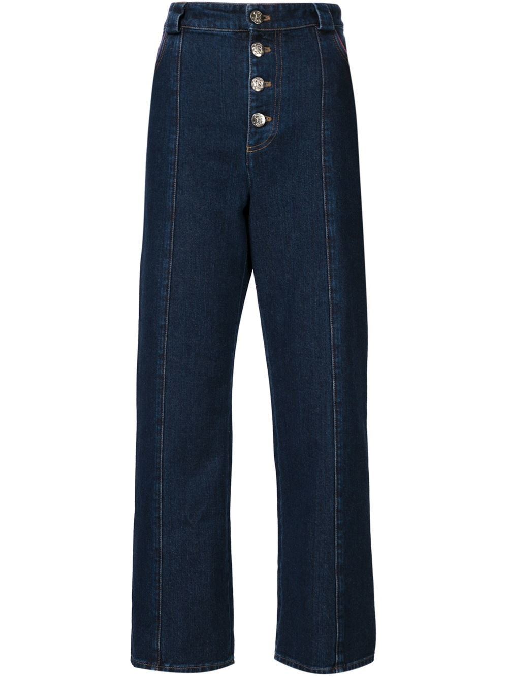 Sonia rykiel High-waisted Jeans in Blue | Lyst