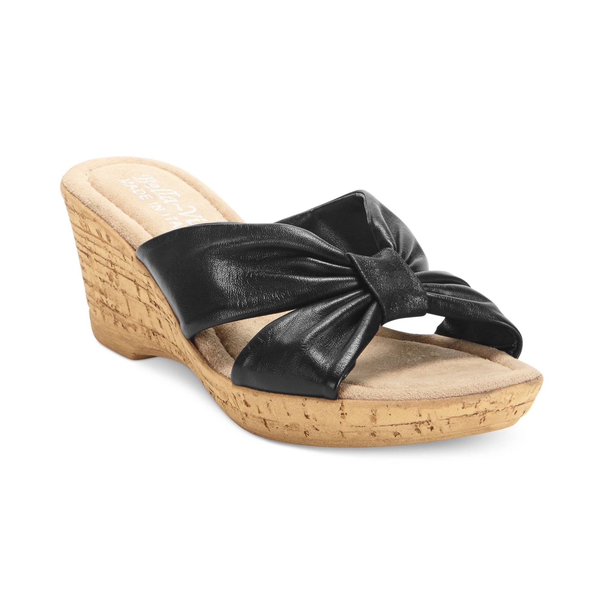 vita italian collection perfetto platform wedge