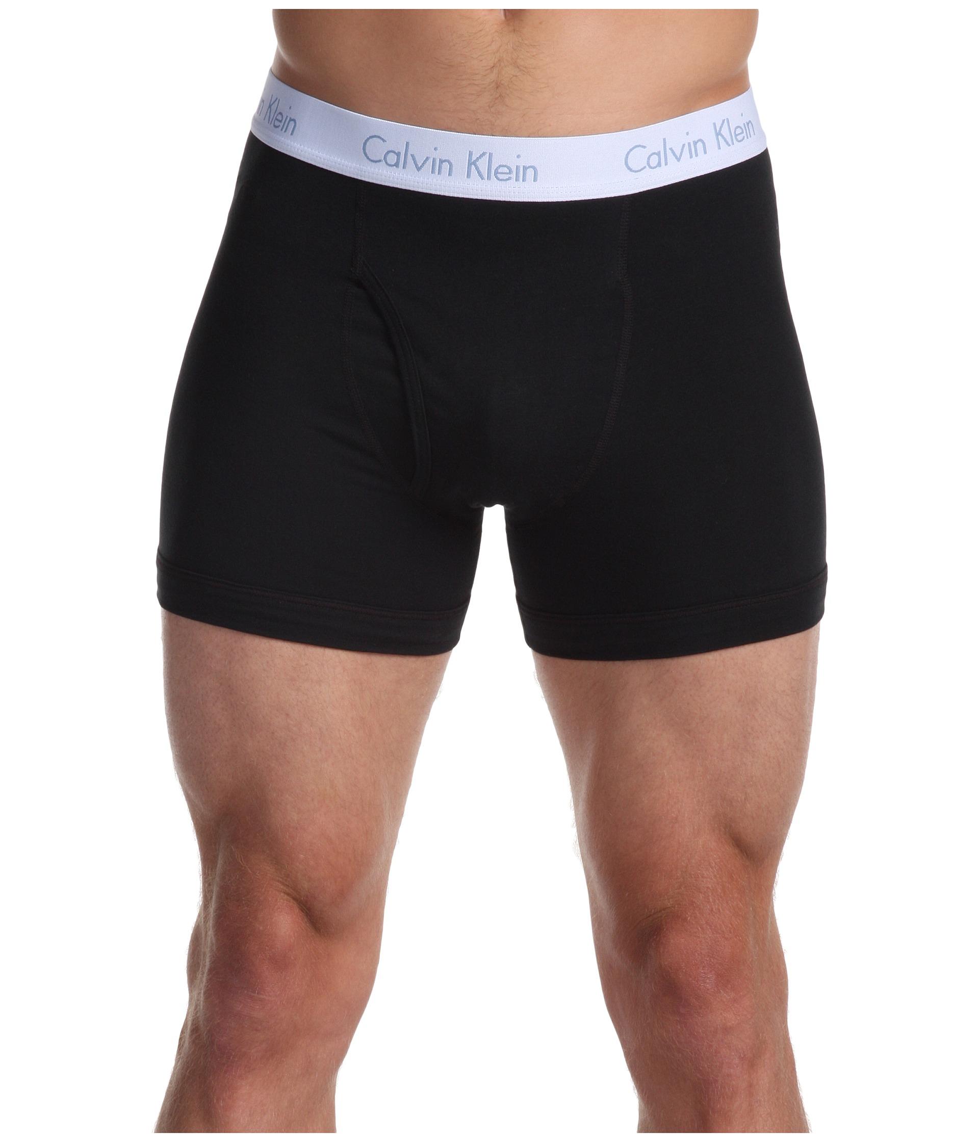calvin klein flexible fit boxer brief u2158 in black for. Black Bedroom Furniture Sets. Home Design Ideas