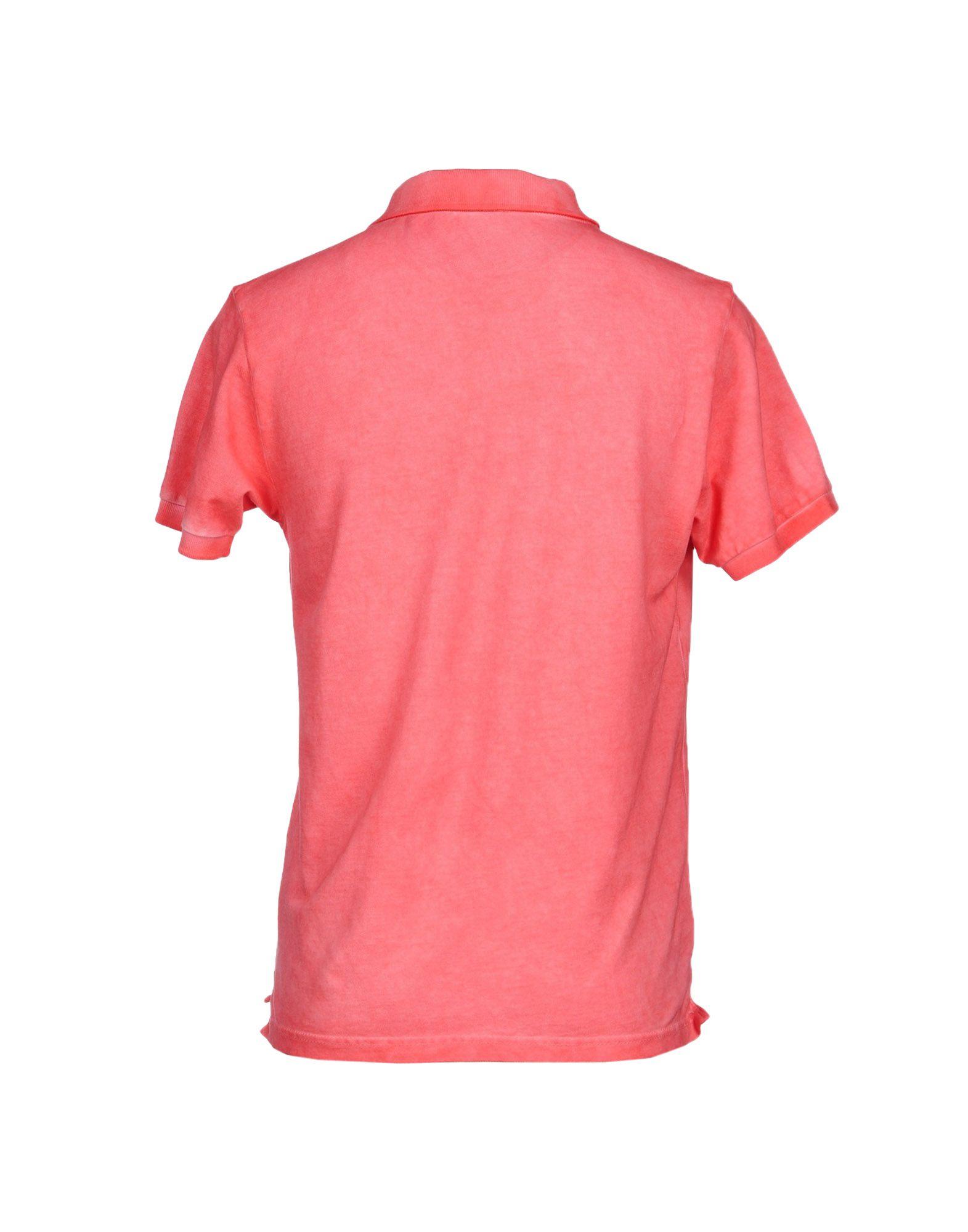 Acquapura Pink Polo Shirt For Men Lyst