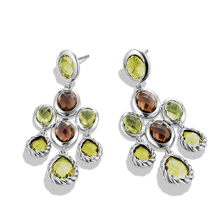 Lyst david yurman chandelier earrings in yellow gallery aloadofball Image collections