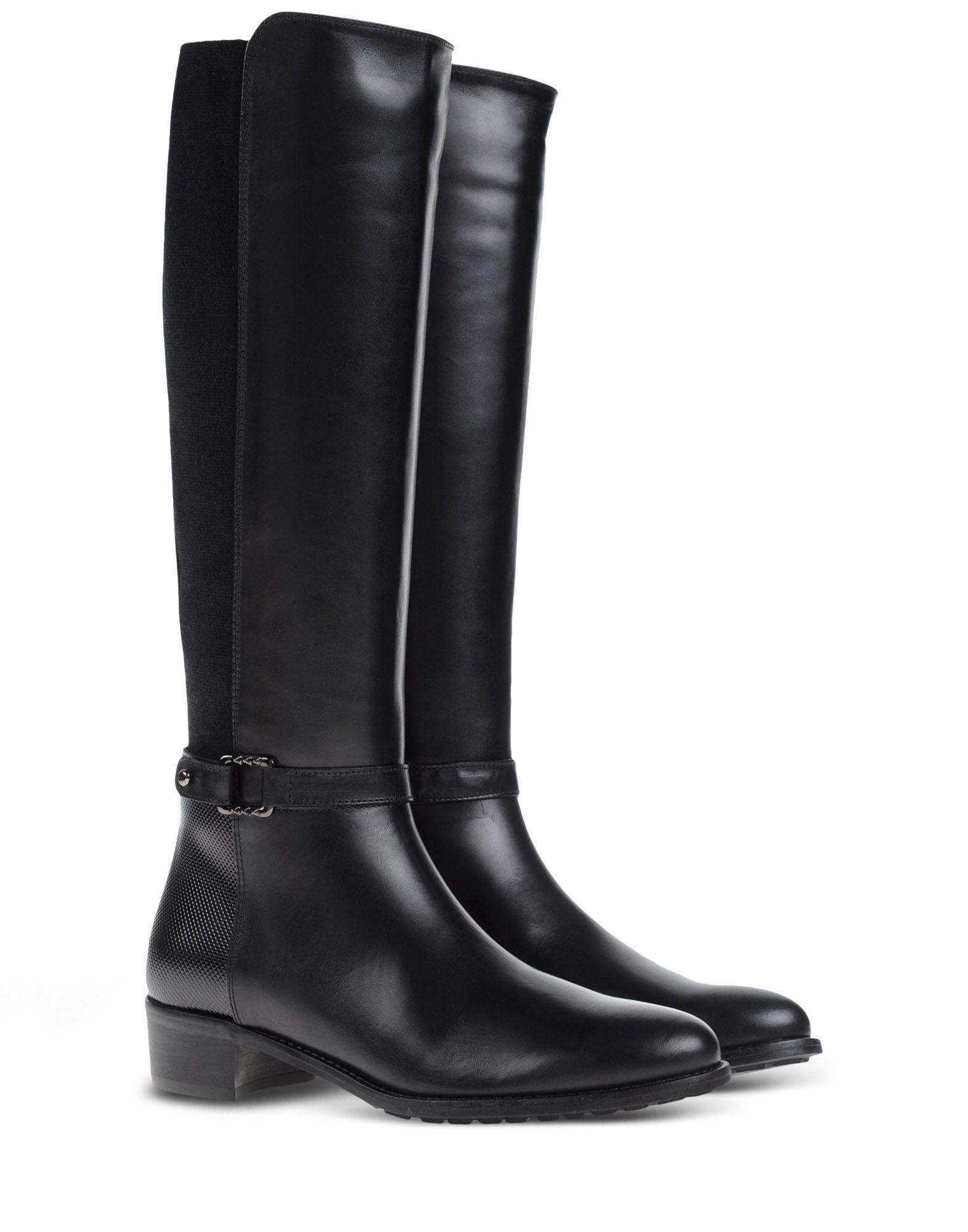 aquatalia boots in black lyst