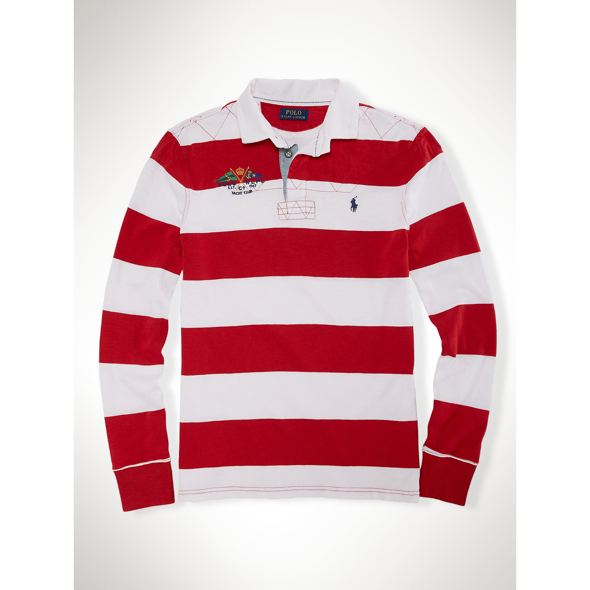 f4462de25e164 Gallery Men S Soccer Tops. Gallery Men S Soccer Tops. Lyst Polo Ralph Lauren  Custom Fit Striped ...