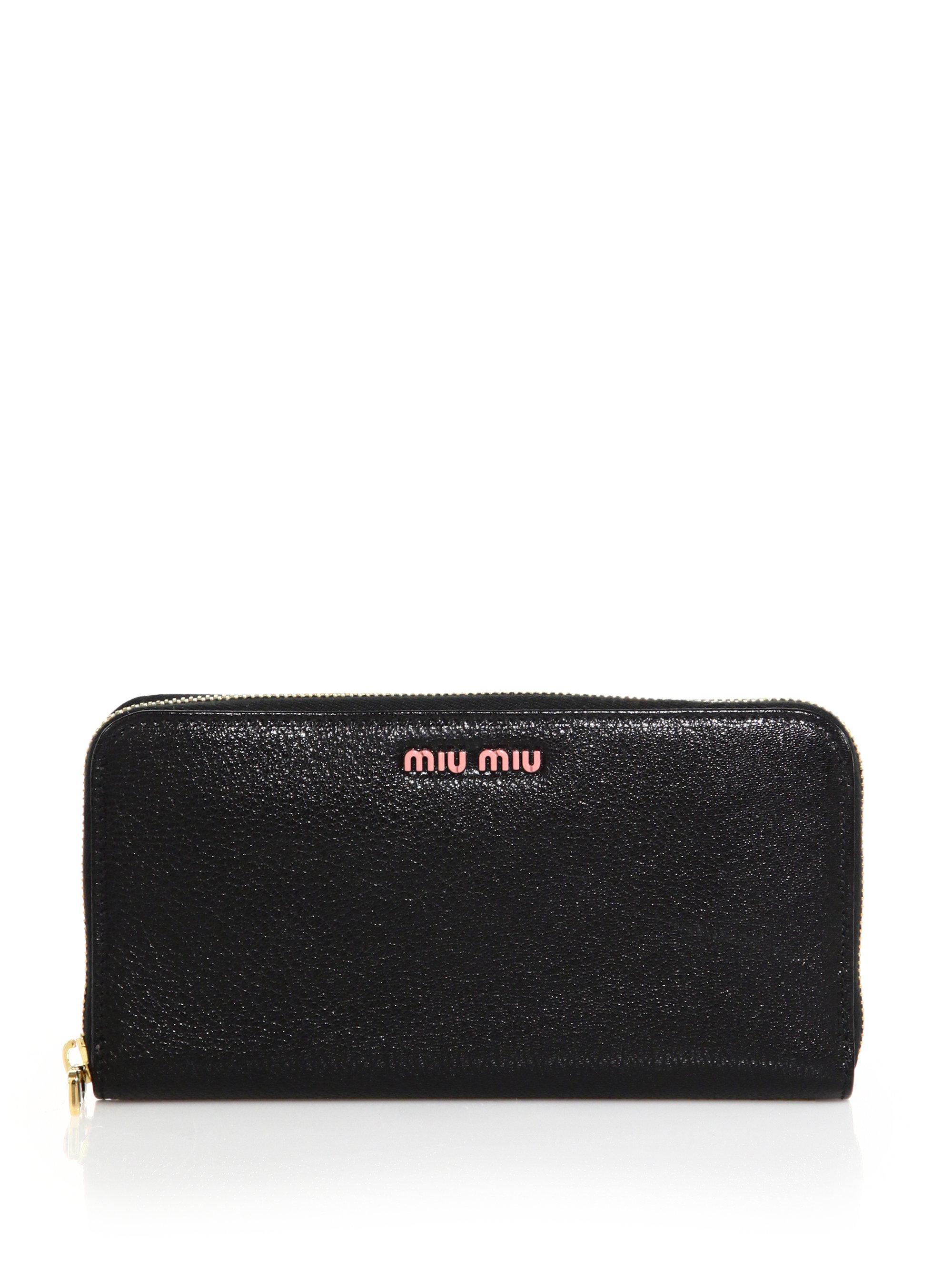 Miu Miu Madras Miu Wallet gGIILtHwm