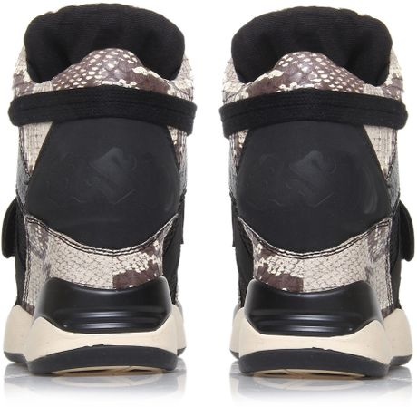 Funky High Tops High-top Wedge Trainers in