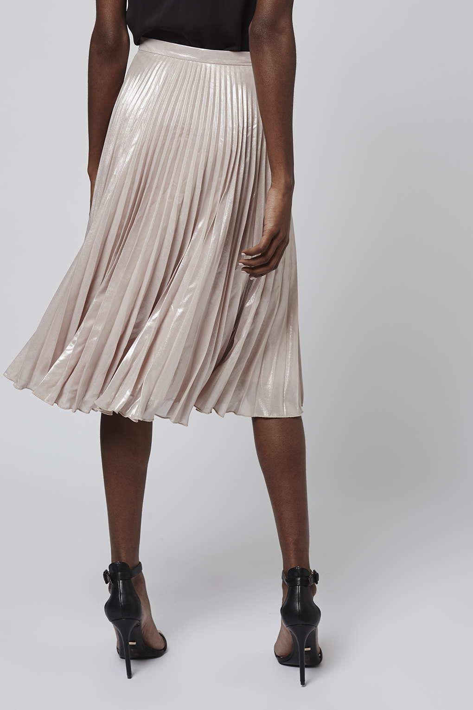 d237beddce Topshop Petite Pleated Midi Skirt – DACC