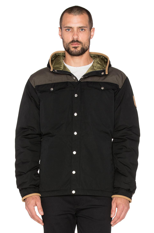 Fjallraven Greenland No. 1 Down Jacket in Black for Men