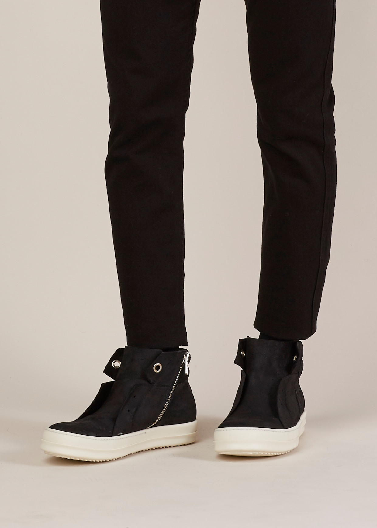 Cheap Price Wholesale Great Deals For Sale Island Dunk sneakers - Black Rick Owens Comfortable Sale Online Supply Online r5SRrHkY