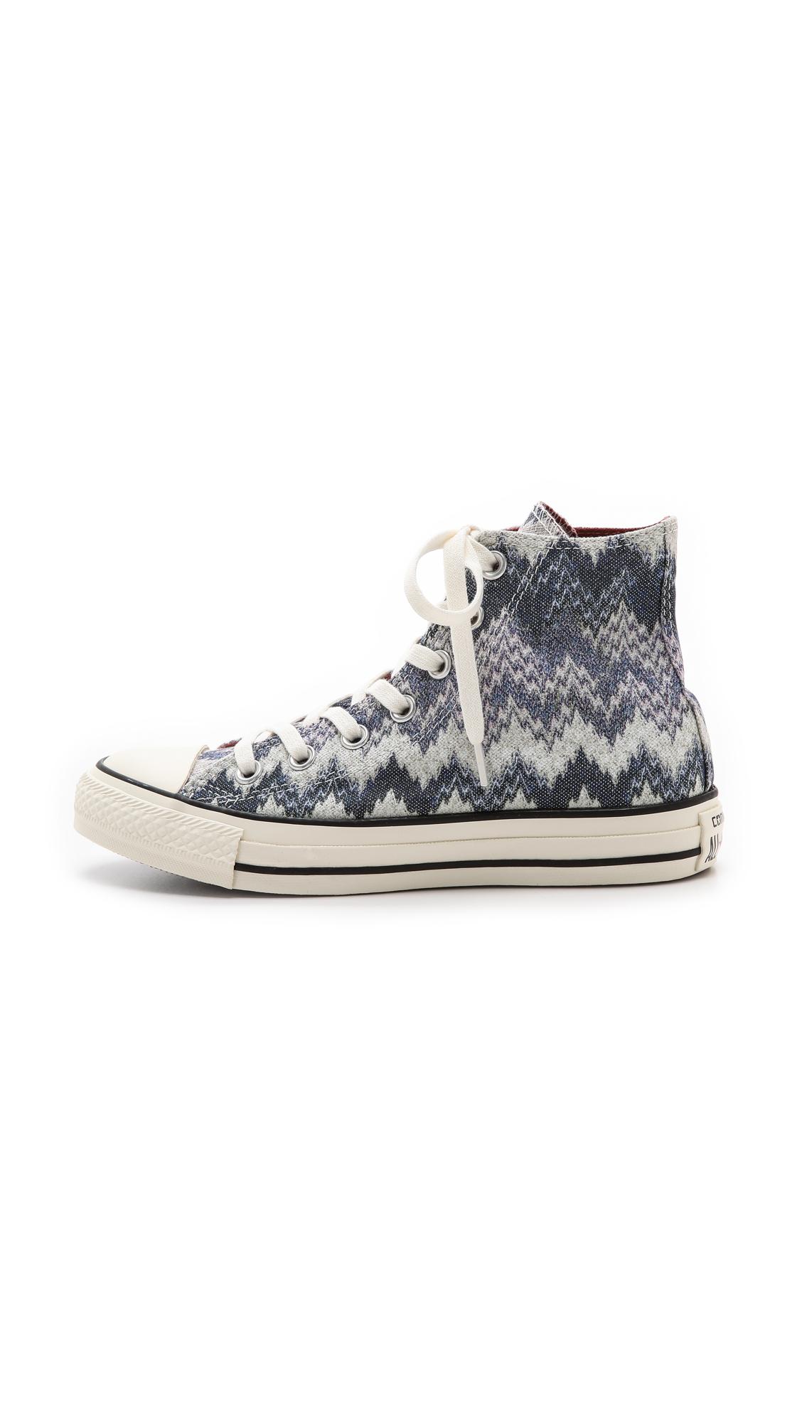 73bd839db9f1d Converse Chuck Taylor All Star Missoni High Top Sneakers - Egret ...