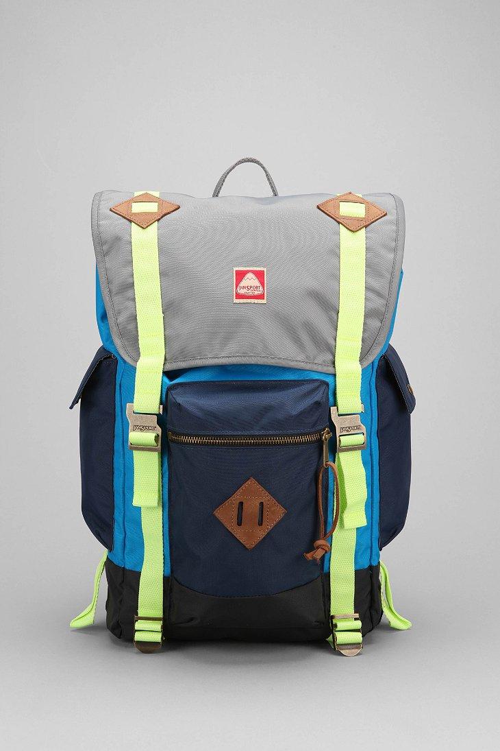 Lyst Jansport Heritage Adobe Backpack In Blue For Men