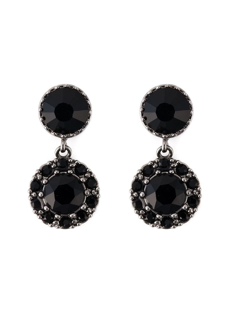 magnetic earrings s givenchy drop magnetic earrings in black lyst 4792