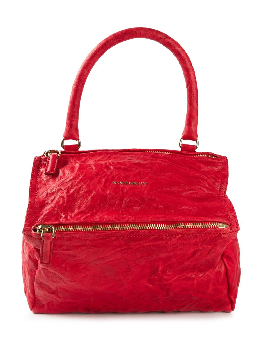 8016b1e5720f2 Givenchy Small Pandora Tote in Red
