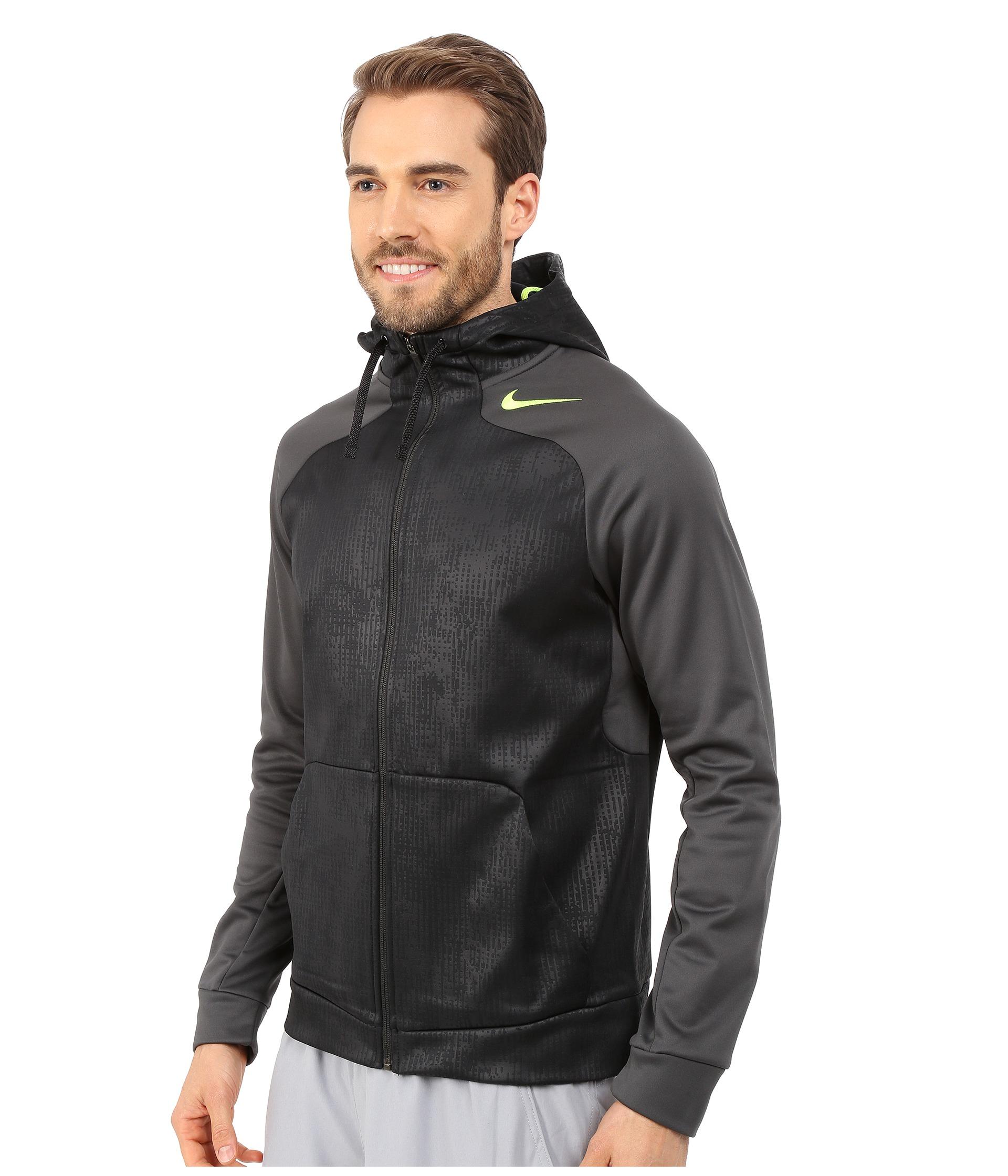 Lyst Nike Hyperspeed Fleece Full Zip Hoodie In Black For Men