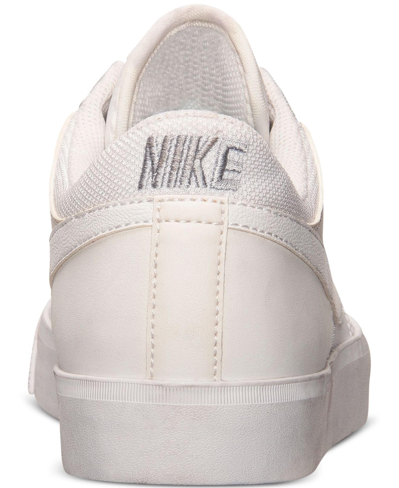 2ea68d5cca40 Lyst - Nike Men s Match Supreme Leather Casual Sneakers From Finish Line in  White for Men