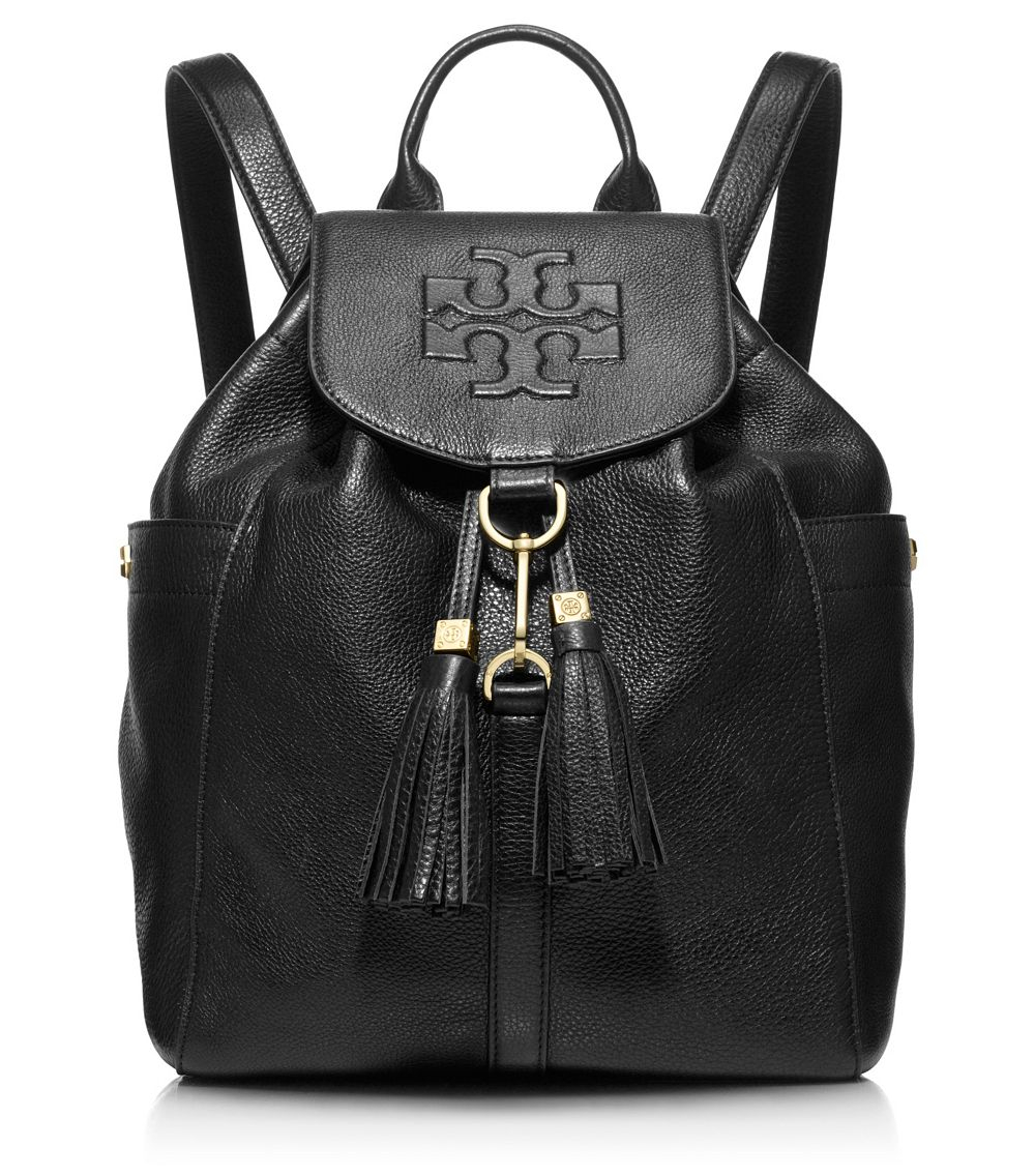 f4461b8a9d28 Lyst - Tory Burch Thea Backpack in Black
