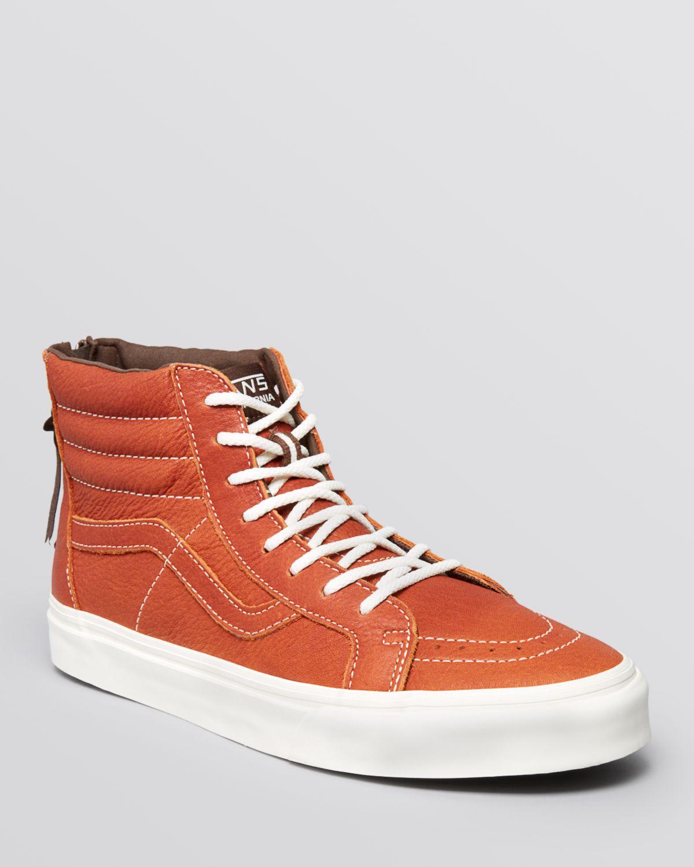 b33858a2d97 vans sk8 hi orange