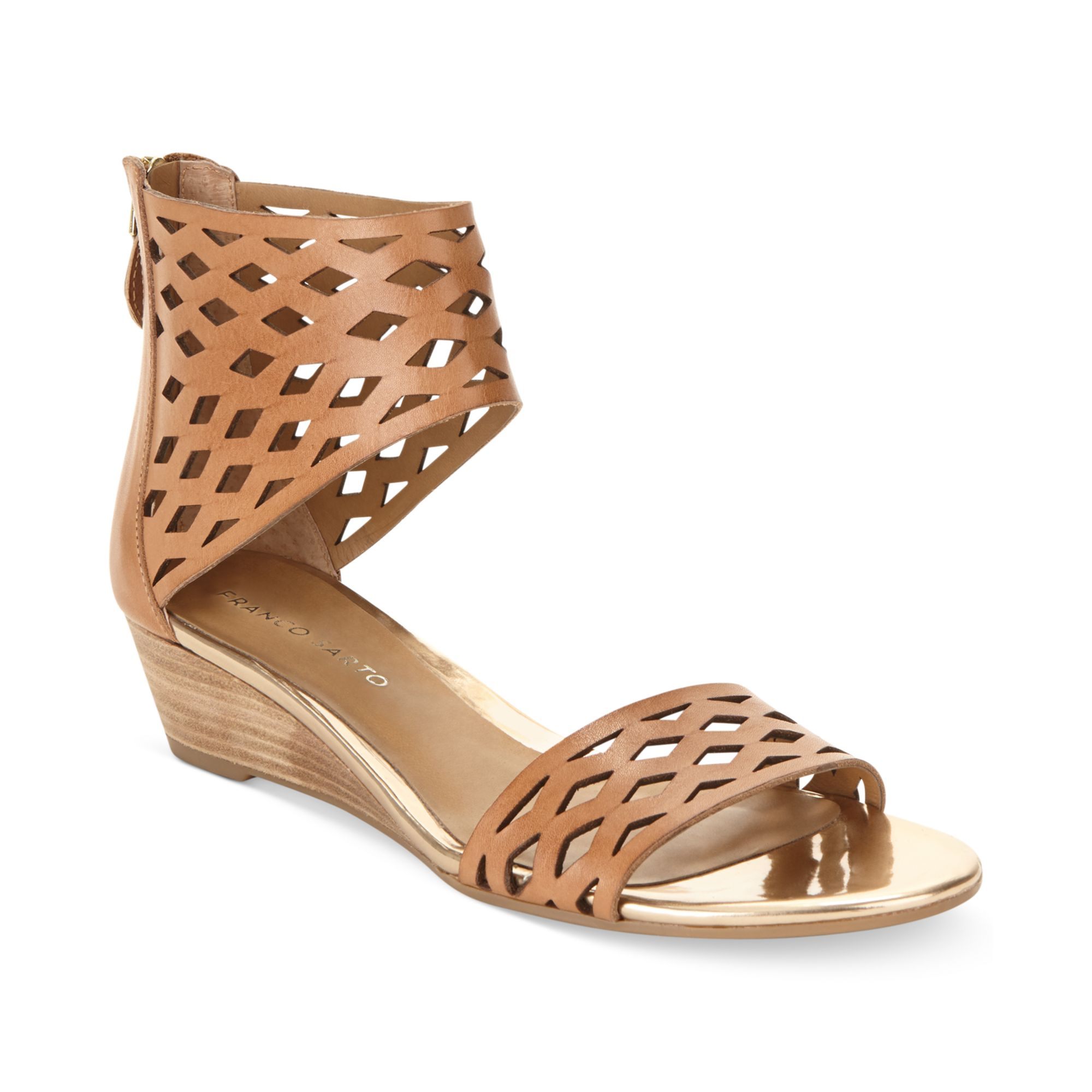 Fashion ankle cuff sandals M US Shoes, Boots, Sandals, Handbags