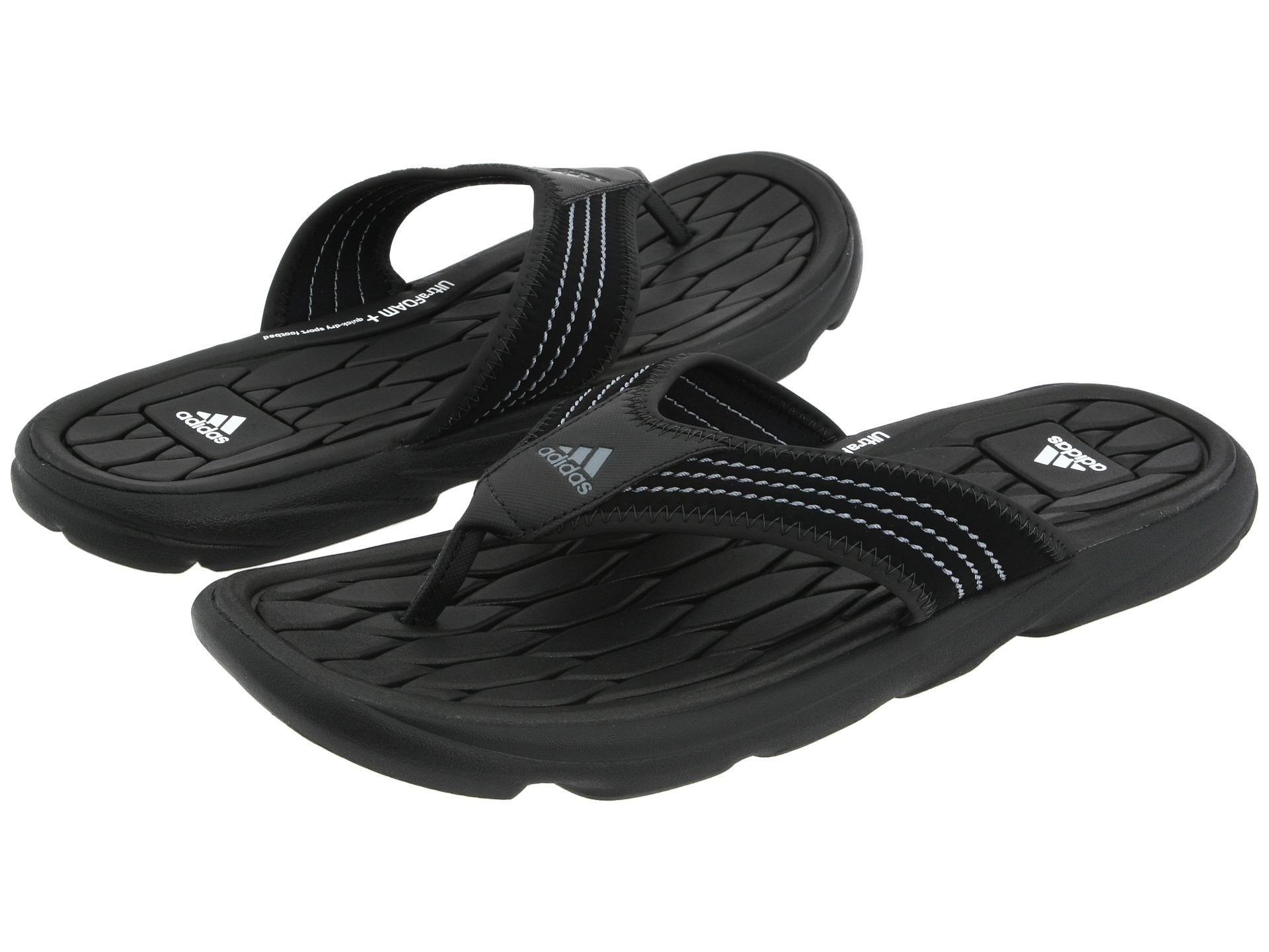 addd8042d Lyst - adidas Originals Raggmo Thong Sc in Black for Men