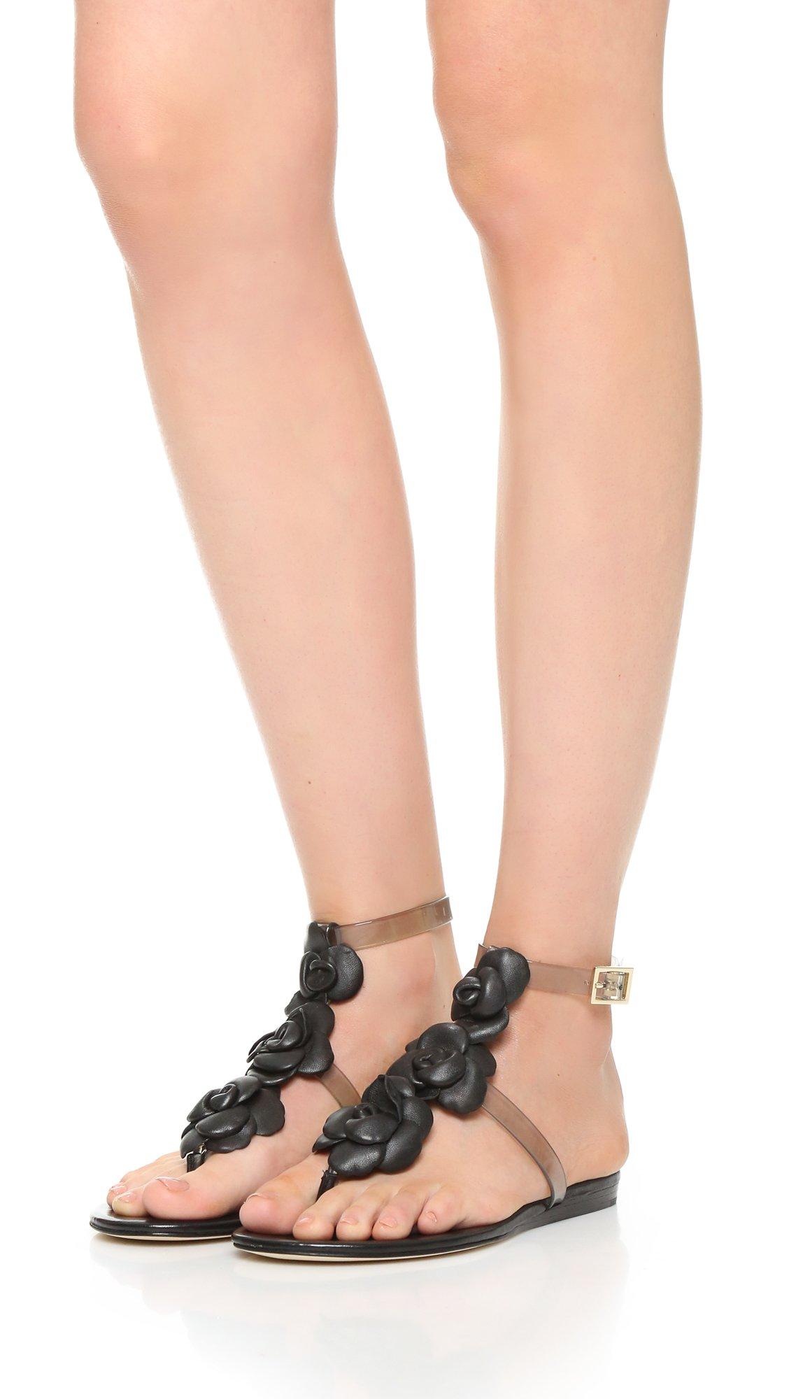 Diane von Furstenberg Artemis Leather Sandals 2014 sale online mABhtTa