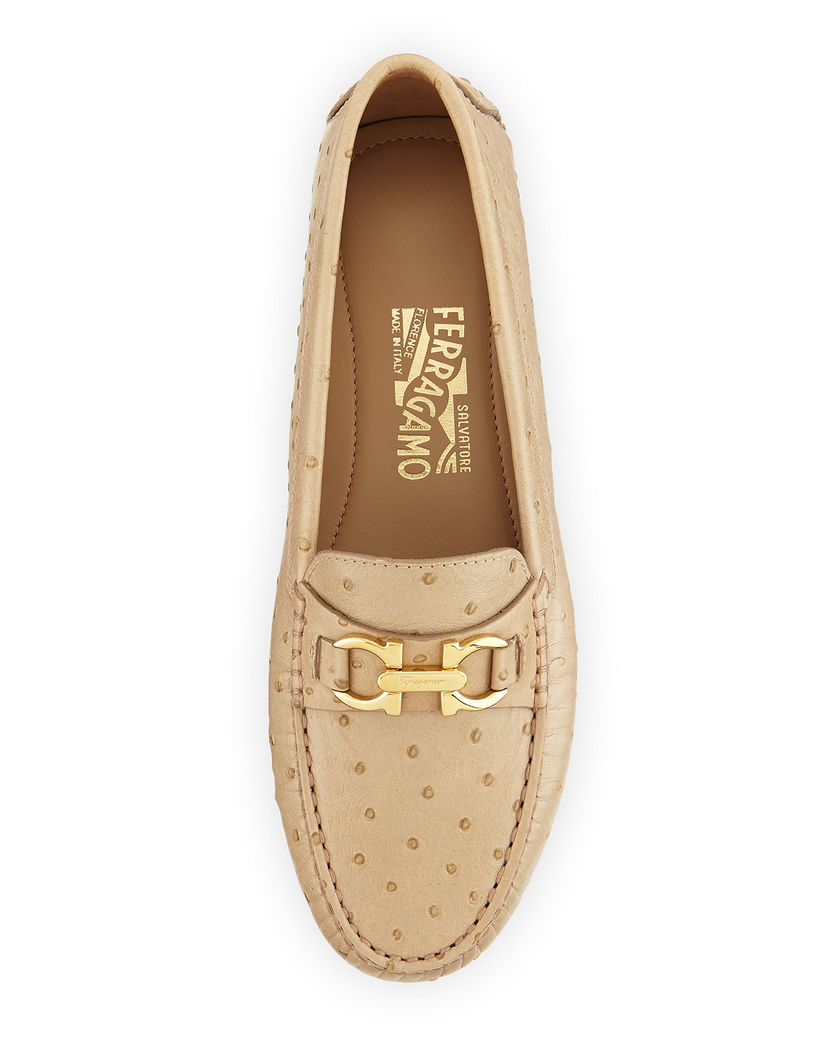 Cream Colored Flat Shoes