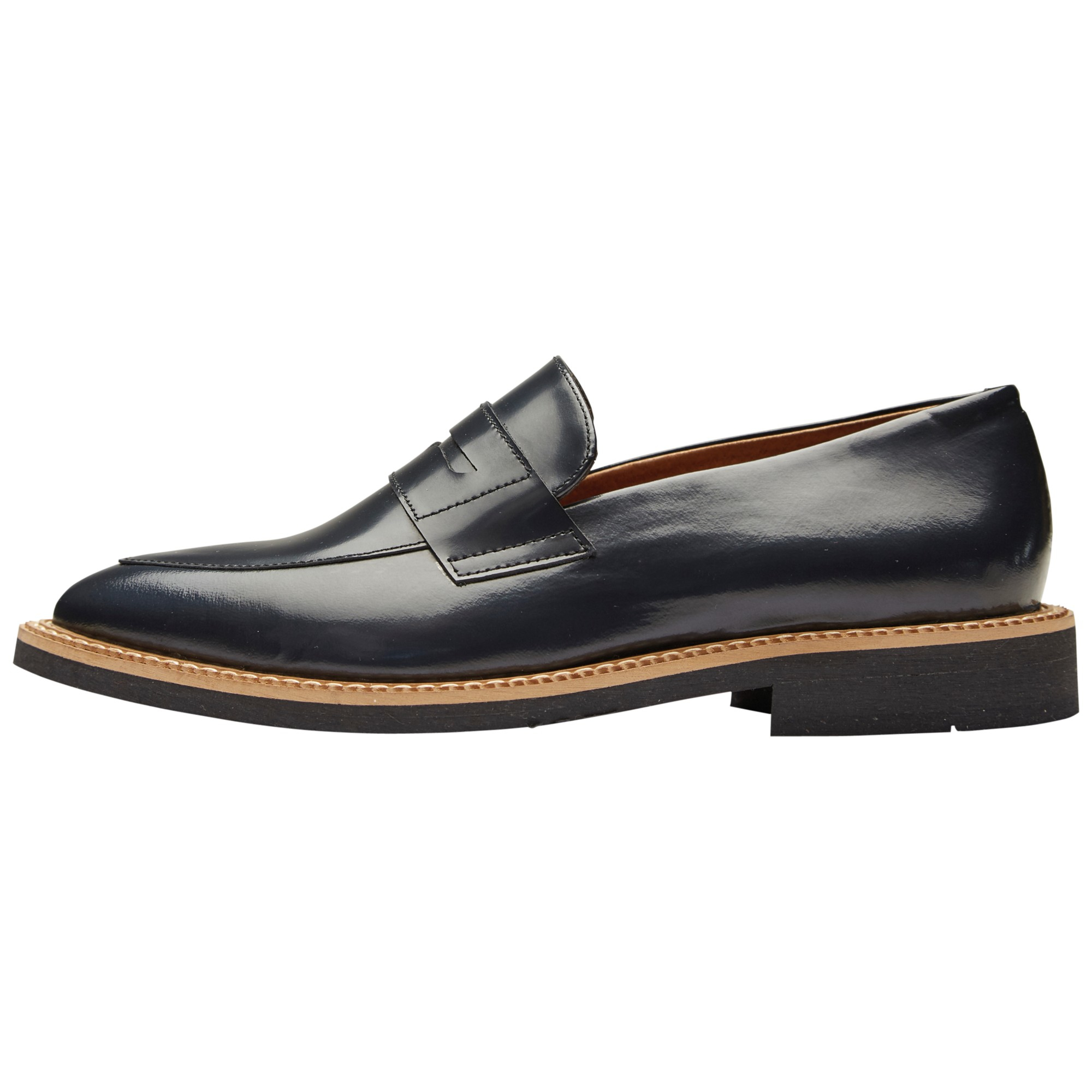 Leather Loafer - Black Selected Footlocker Pictures For Sale Cheap Price Buy Discount Deals Sale Online Aaa Quality 7p7WM4Fiw