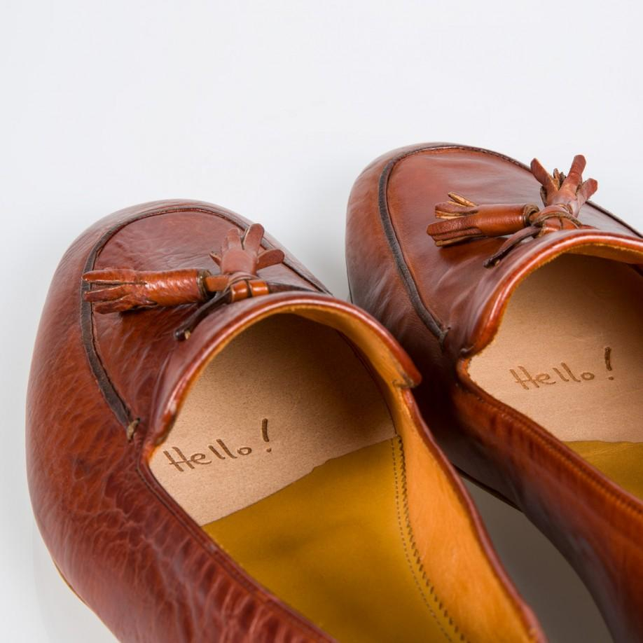 a281ff3aa2f Paul Smith Tan Dip-Dyed Leather  Stevenson  Tassel Loafers in Brown ...