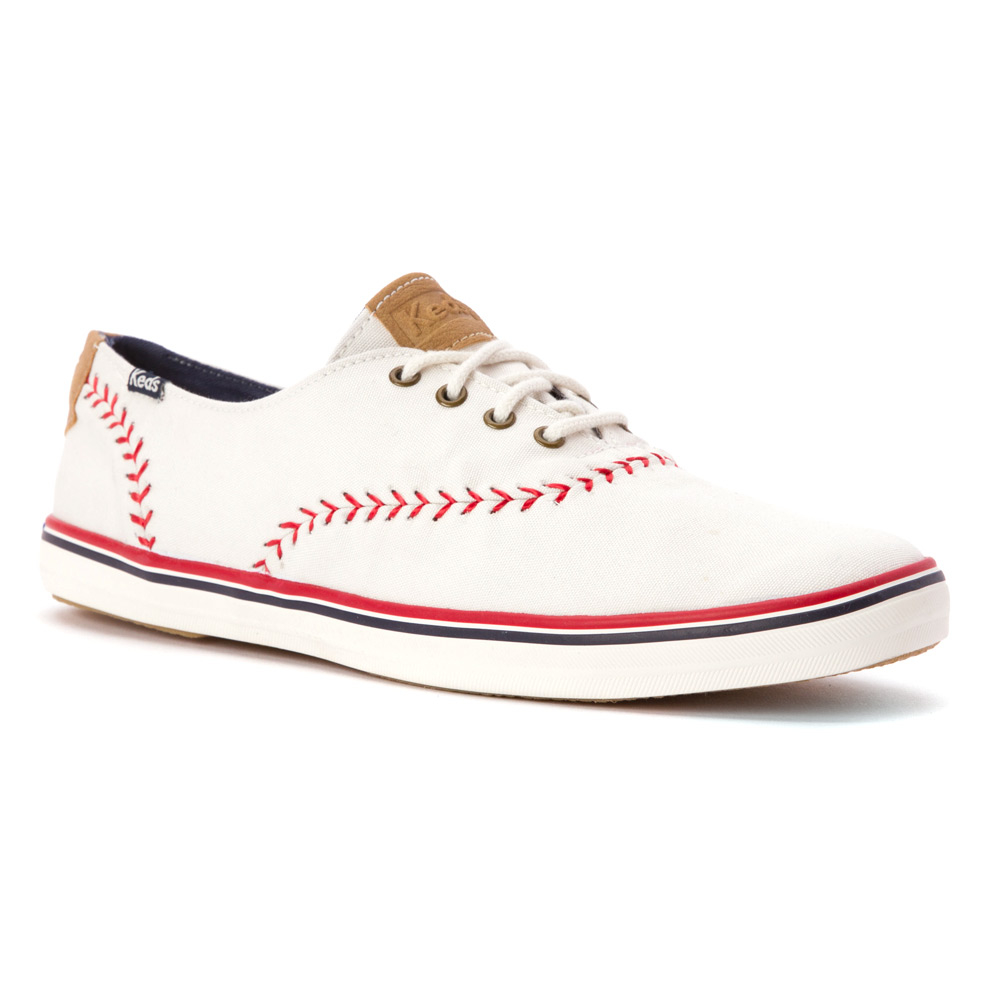 keds chion pennant sneaker in white lyst