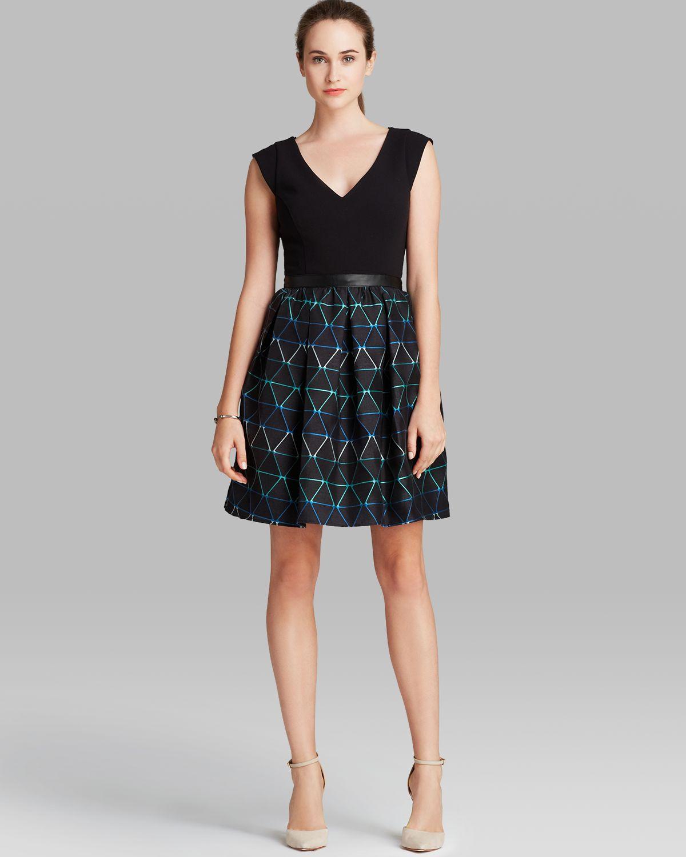 designer allen schwartz women clothing dresses evening