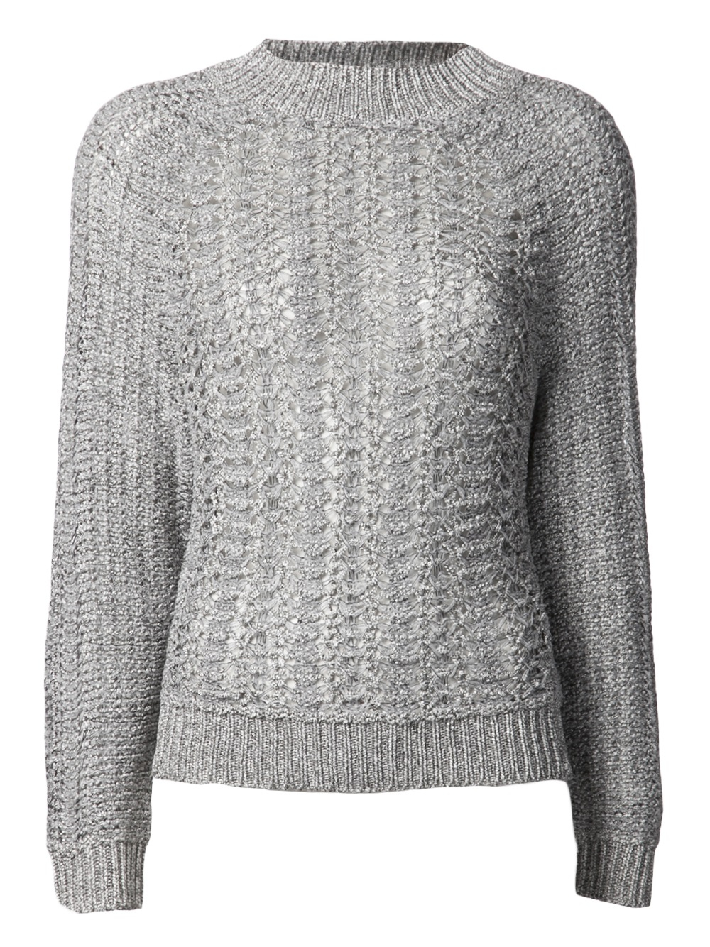 Theory Lalora Sweater in Gray | Lyst