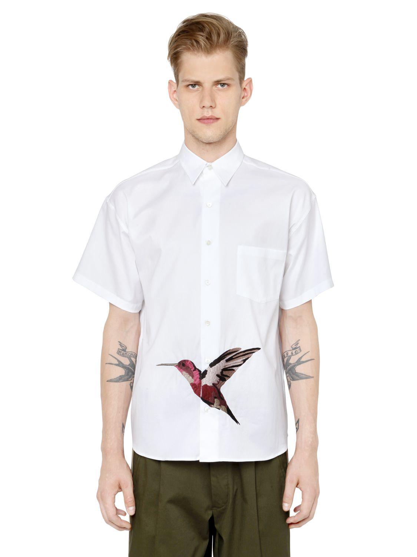 Men: Formal Shirts Dolce & Gabbana Embroidered Bib Shirt ...
