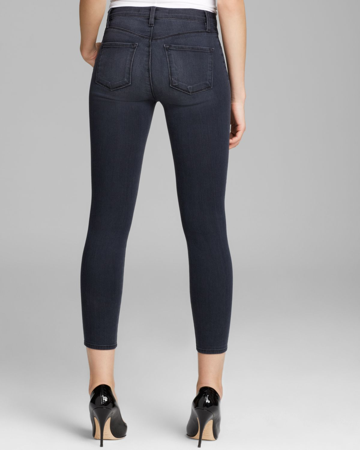 Alana Cropped High-rise Skinny Jeans - Dark denim J Brand Cheap Sale Lowest Price Discount Factory Outlet Discount Wiki Affordable How Much Online 7zUsaCt