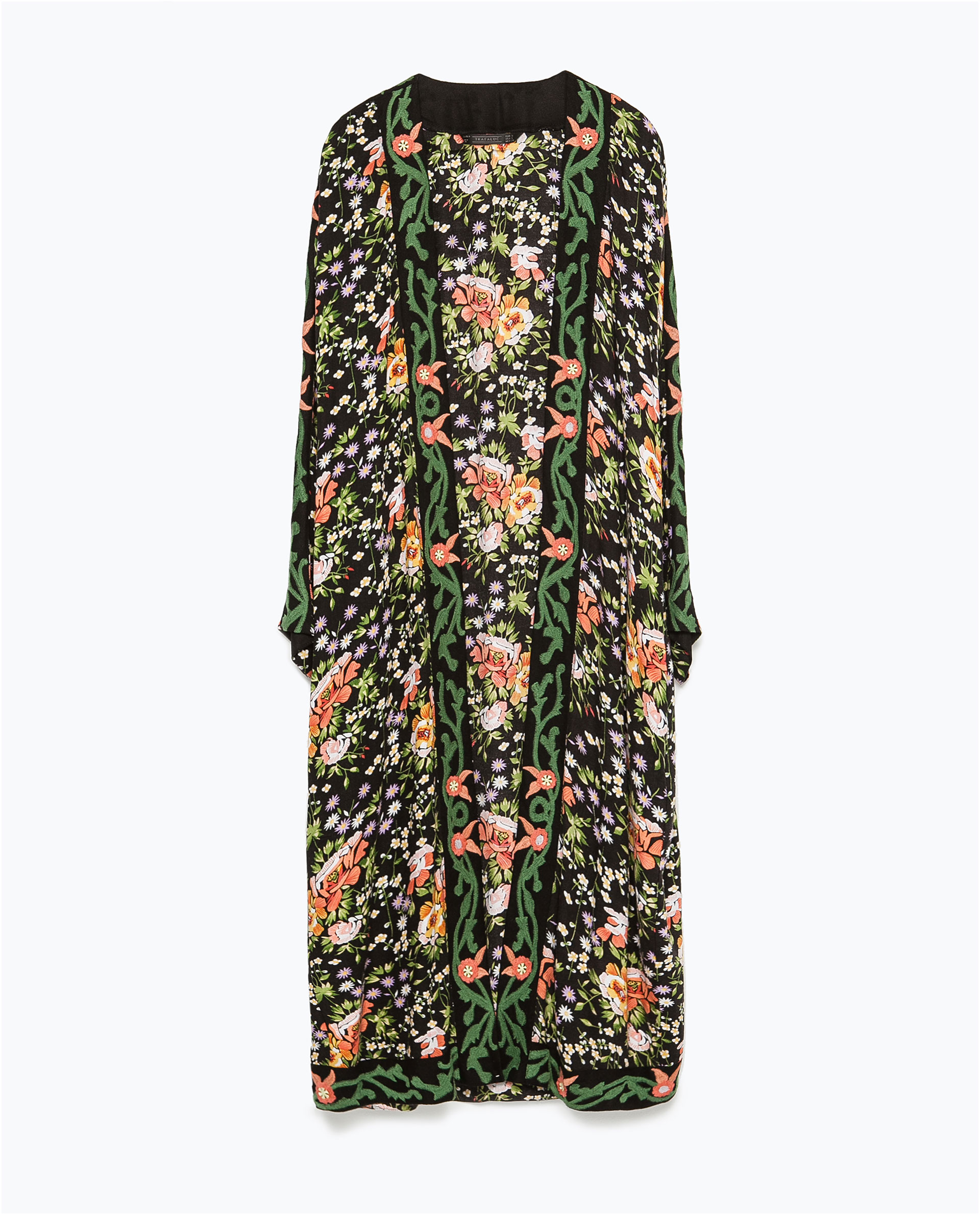 Zara Long Embroidered ...