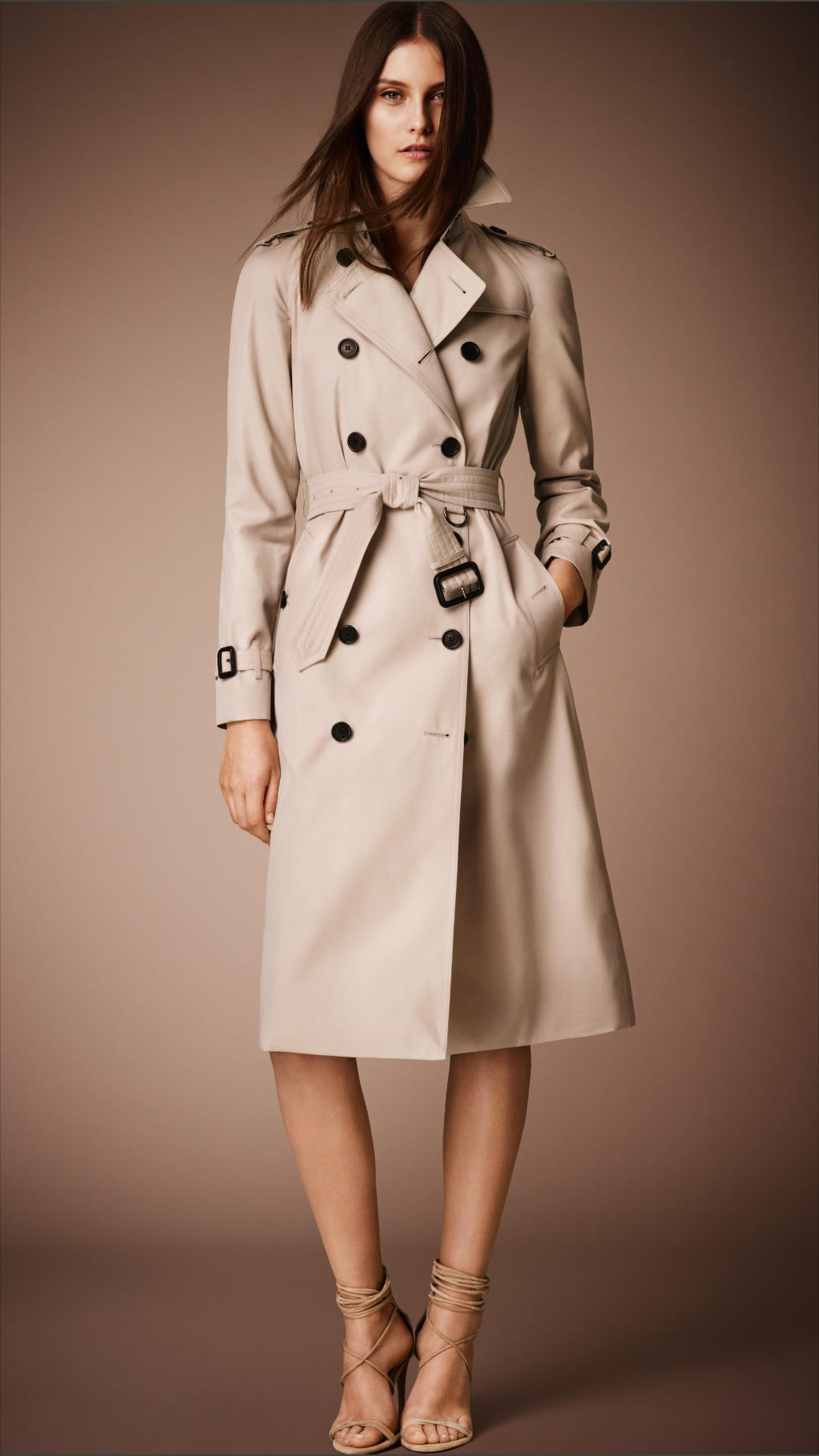 Womens long trench coats