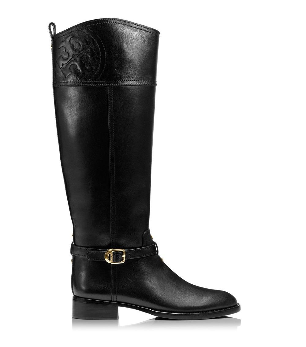 Tory Burch Marlene Riding Boot In Black Lyst