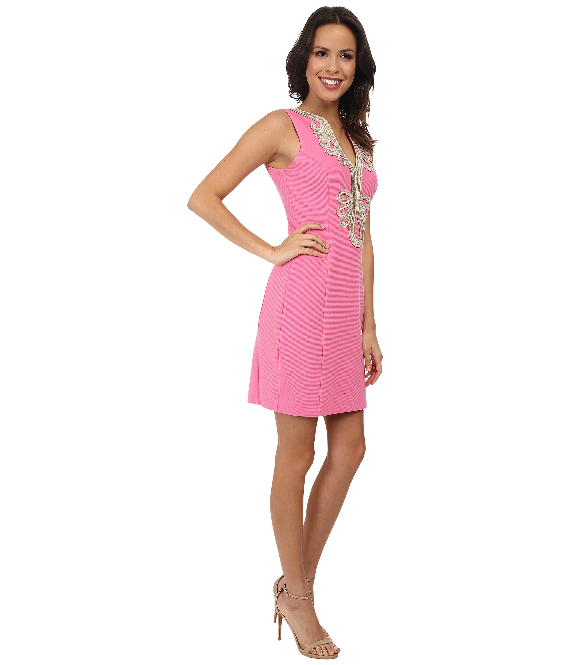Lilly pulitzer Janice Shift Dress in Pink | Lyst