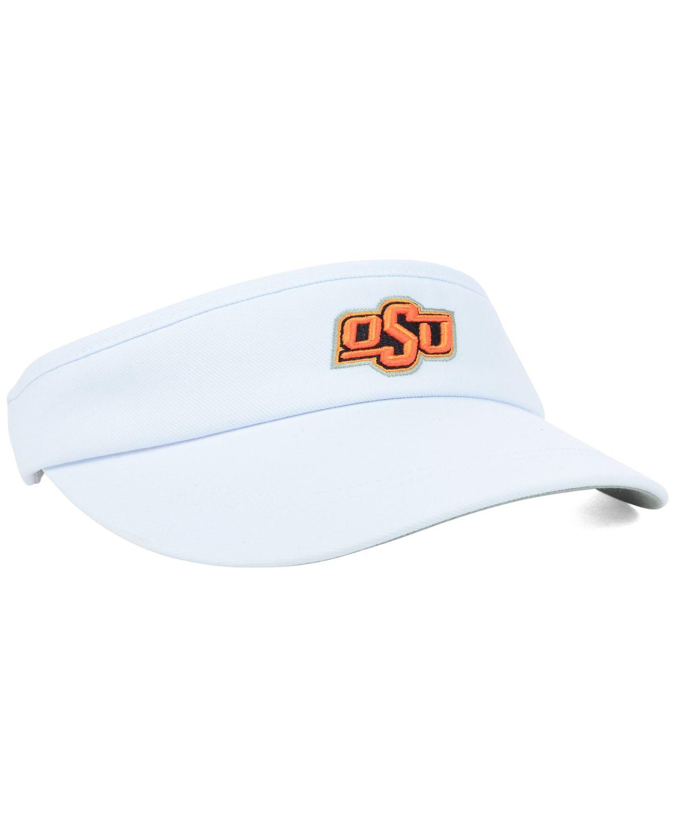 best website e0011 37e71 Nike Oklahoma State Cowboys Sideline Coaches Visor in White for Men ...
