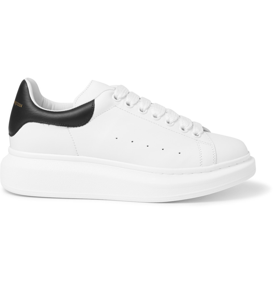 Alexander mcqueen Leather Sneakers in White for Men