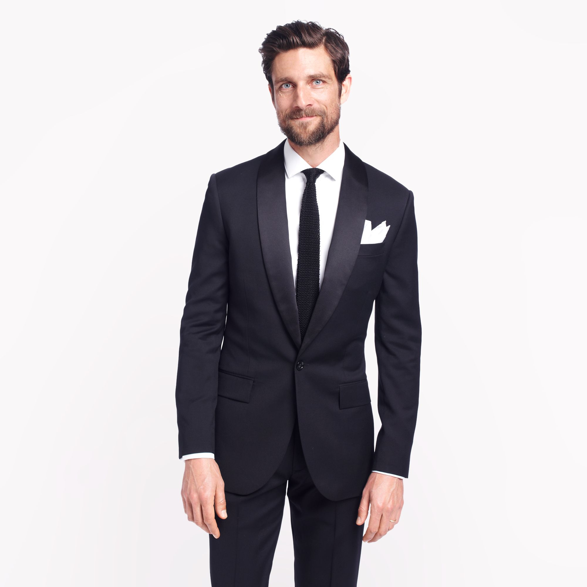 Tuxedo: J.crew Ludlow Shawl-collar Tuxedo Jacket In Italian Wool