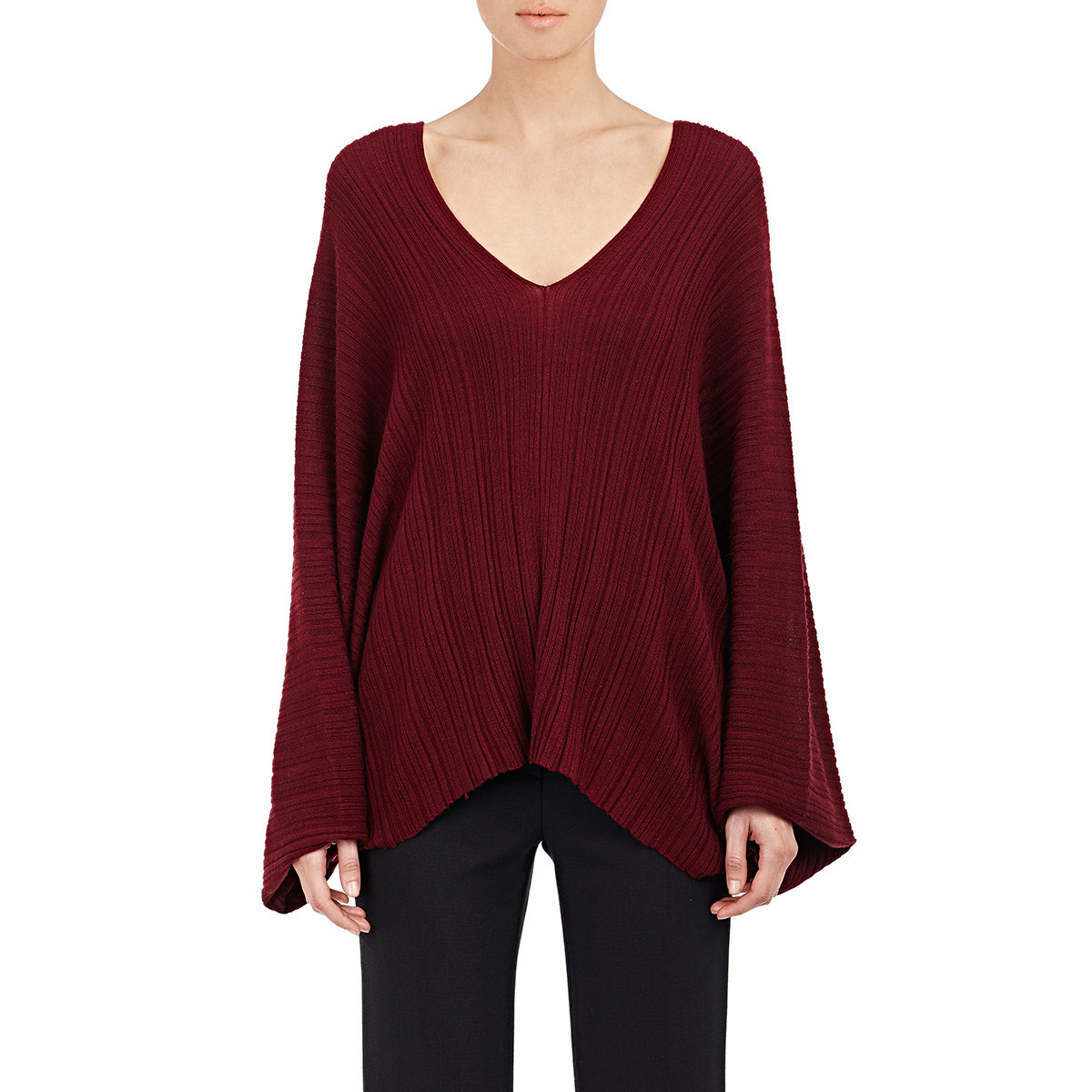 Hellessy Ira Batwing Sweater in Red | Lyst