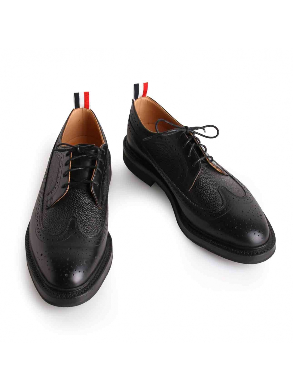 thom browne black classic shoes in black for lyst