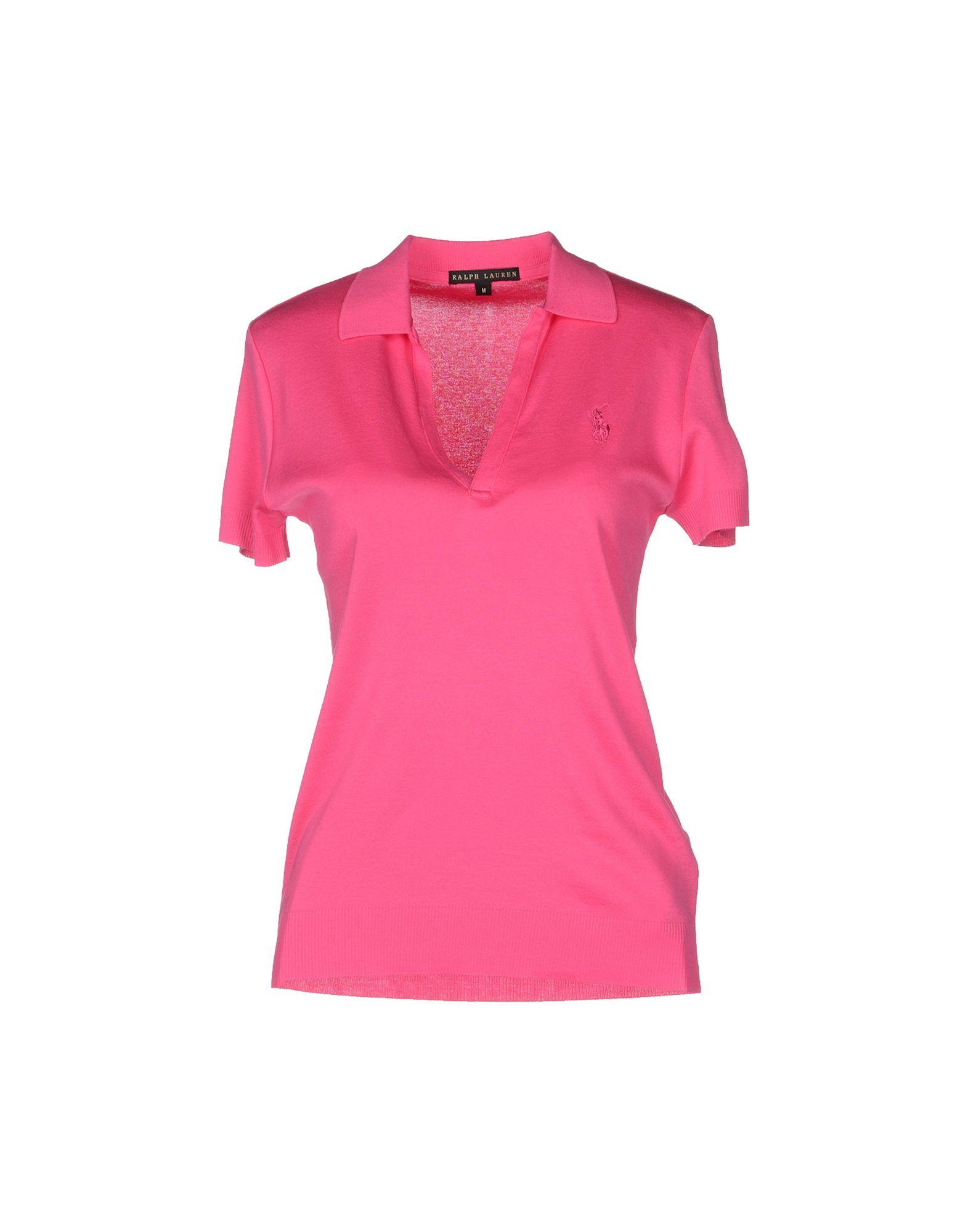 Ralph lauren black label polo shirt in pink fuchsia lyst for Ralph lauren black label polo shirt
