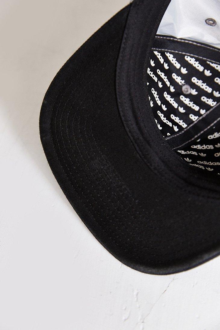 401e5bc448f Lyst - adidas Originals Mixed 3M Reflective Snapback Hat in Metallic ...