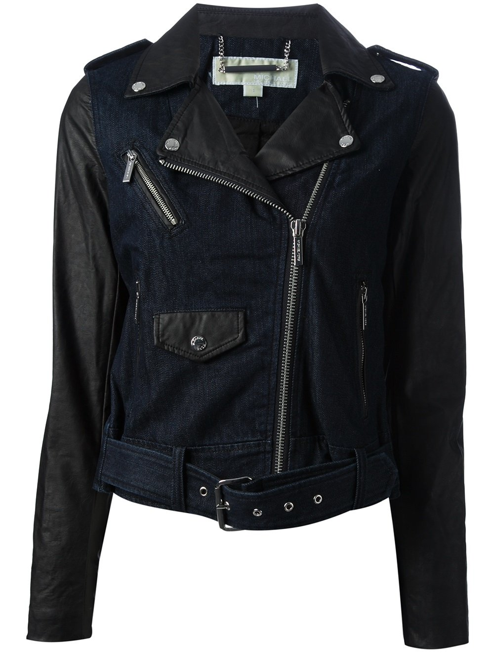 Faux leather motorcycle jackets