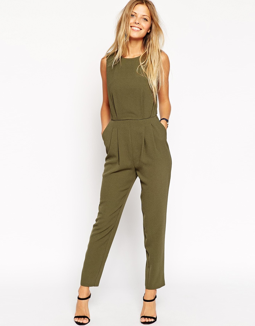 Excellent  Utility Jumpsuit For Women  Women39s Khaki Jumpsuits Online In India