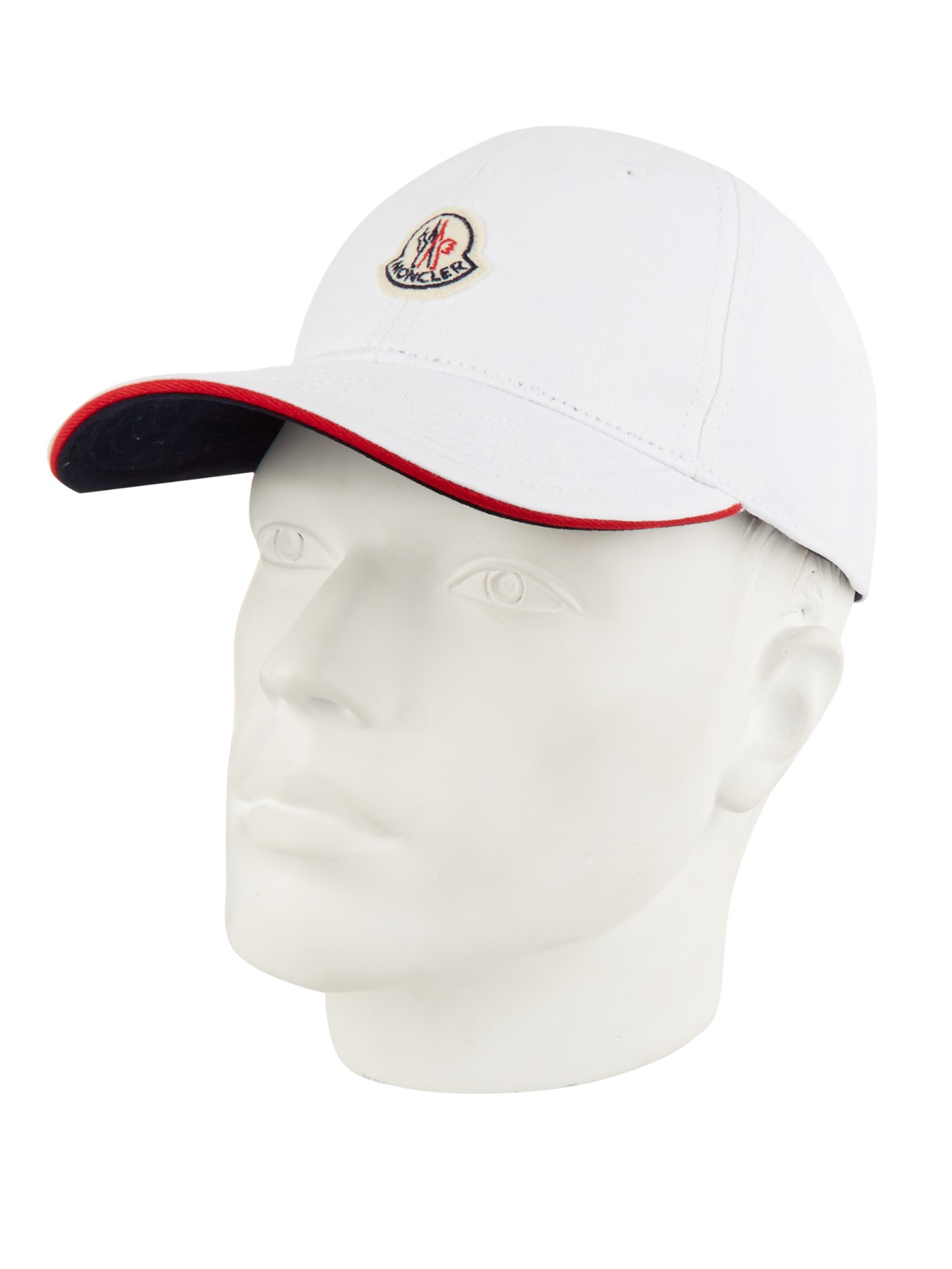 97243ca4e69 Lyst - Moncler Logo Cap in White for Men